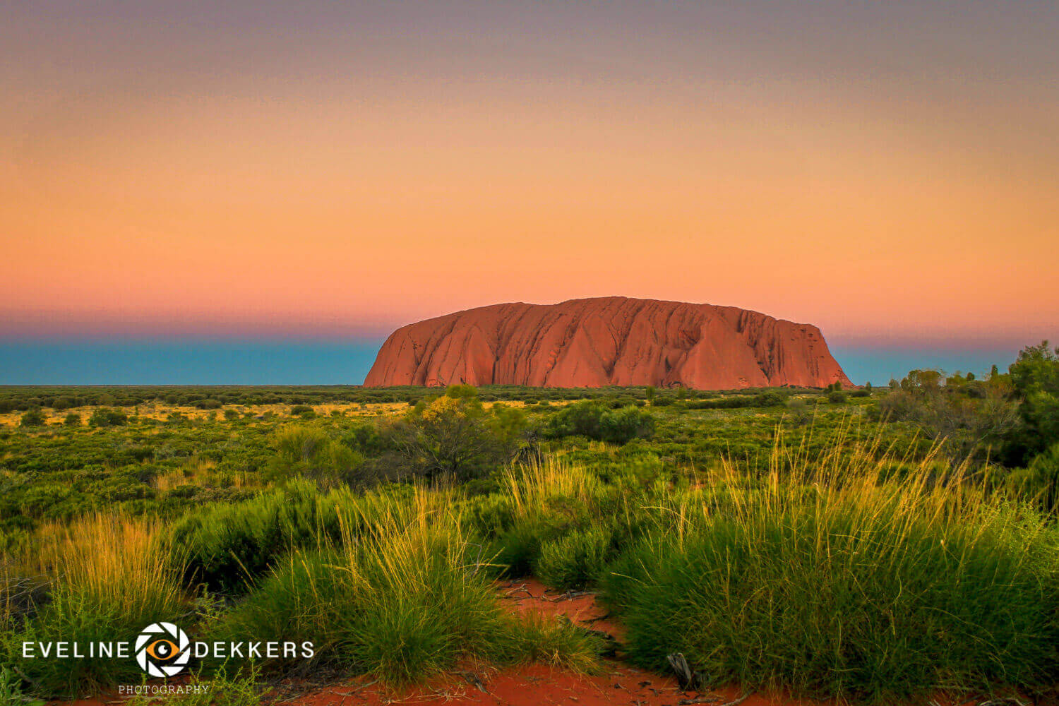 Uluru during sunset - Australia