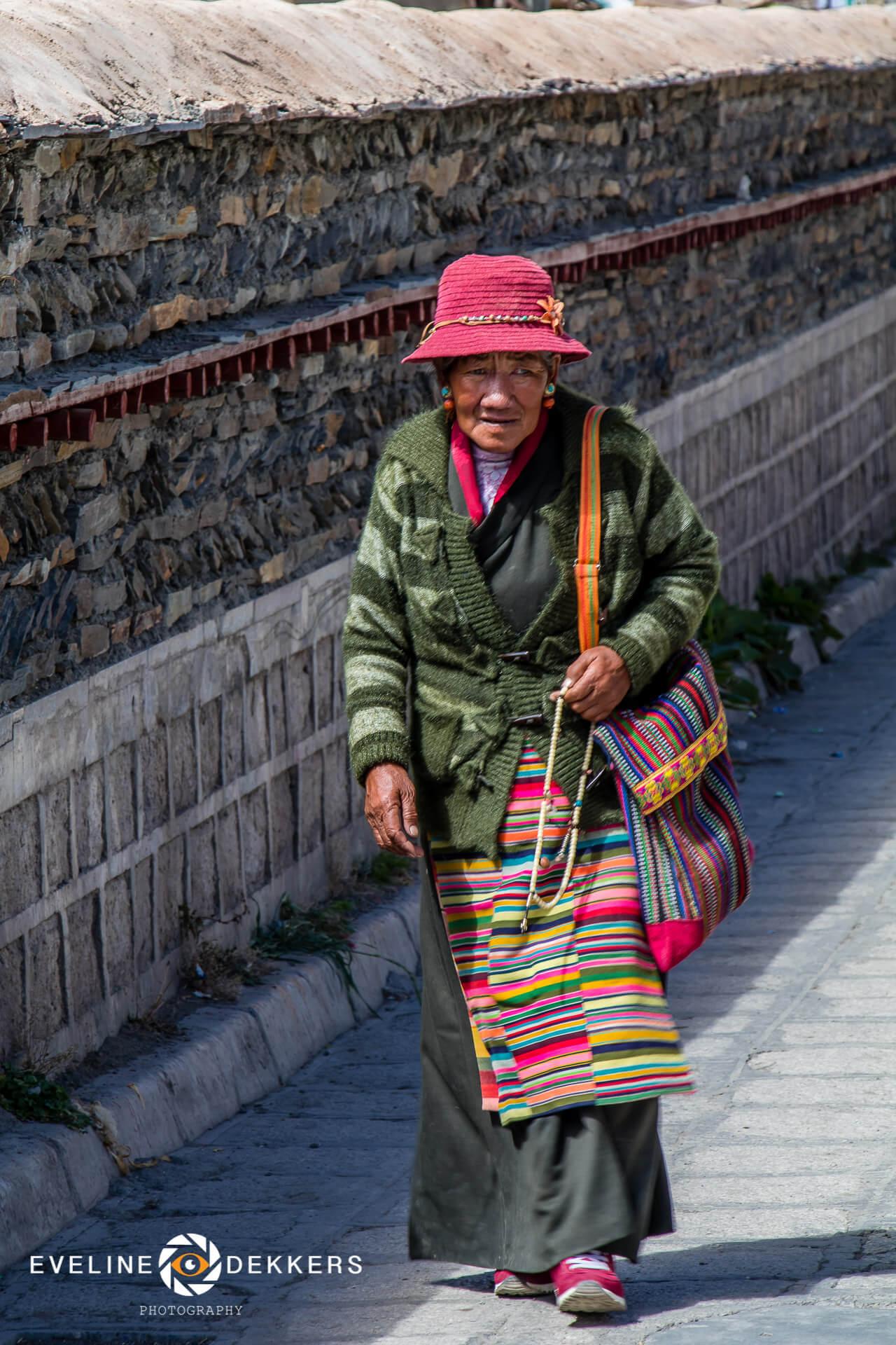 Pelgrim in Sakye - Tibet