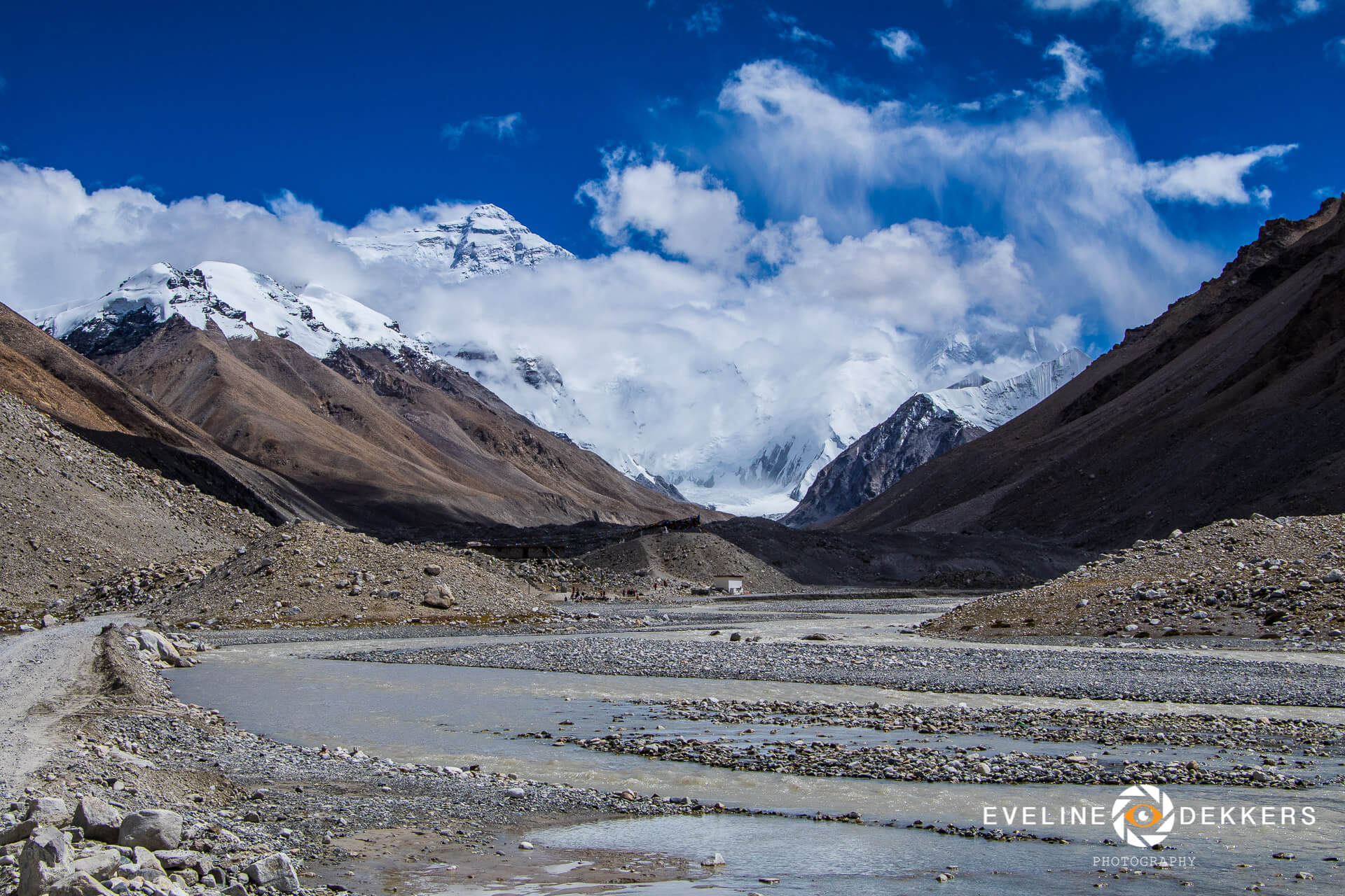 Mount Everest from base camp - Tibet